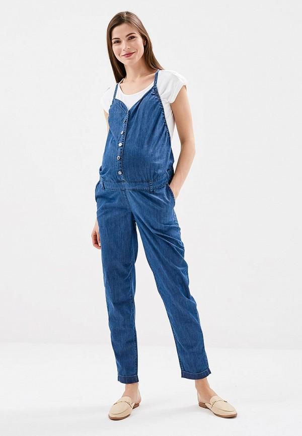 Купить Комбинезон джинсовый BuduMamoy, bu022ewapkr5, синий, Весна-лето 2018