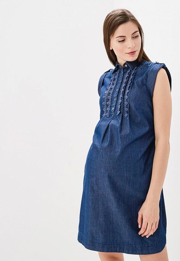 Купить Платье джинсовое BuduMamoy, BU022EWAPKR6, синий, Весна-лето 2018