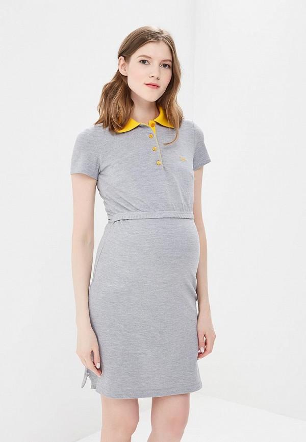 Купить Платье BuduMamoy, BU022EWAPKT3, серый, Весна-лето 2018