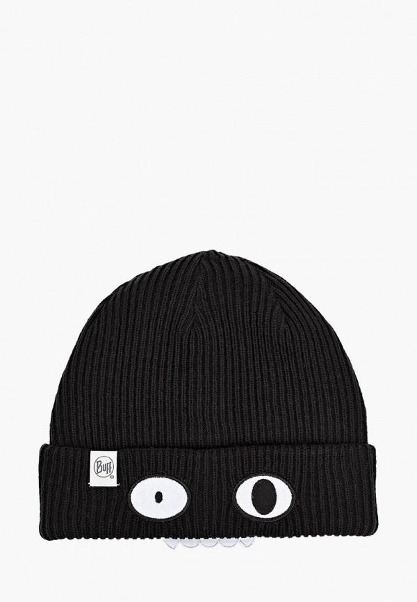 шапка buff для мальчика, черная