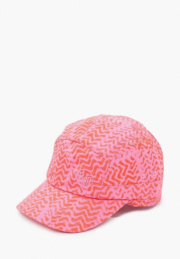 кепка buff для девочки, розовая