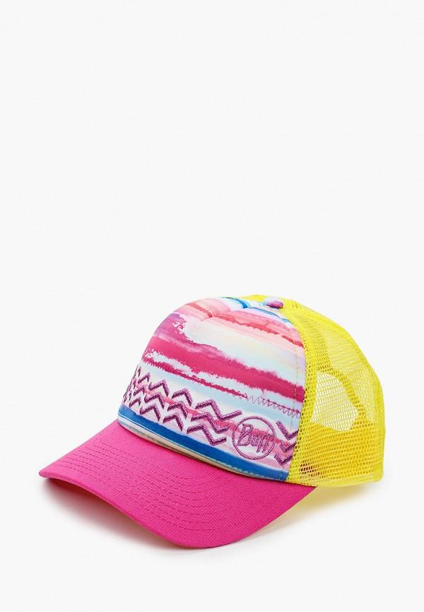 бейсболка buff для девочки, разноцветная