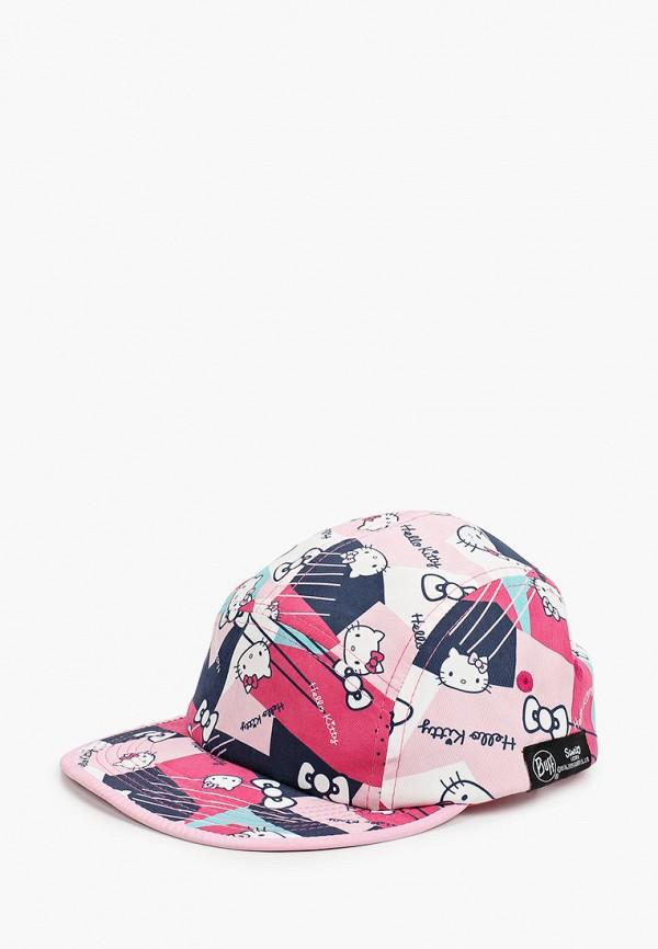 бейсболка buff для девочки, розовая