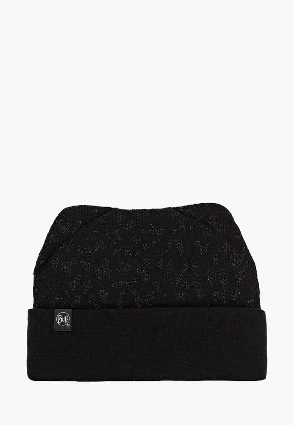 шапка buff для девочки, черная