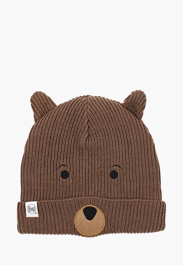 шапка buff малыши, коричневая