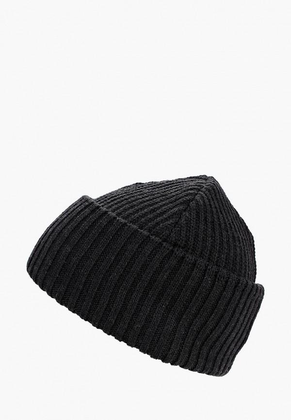 мужская шапка buff, черная