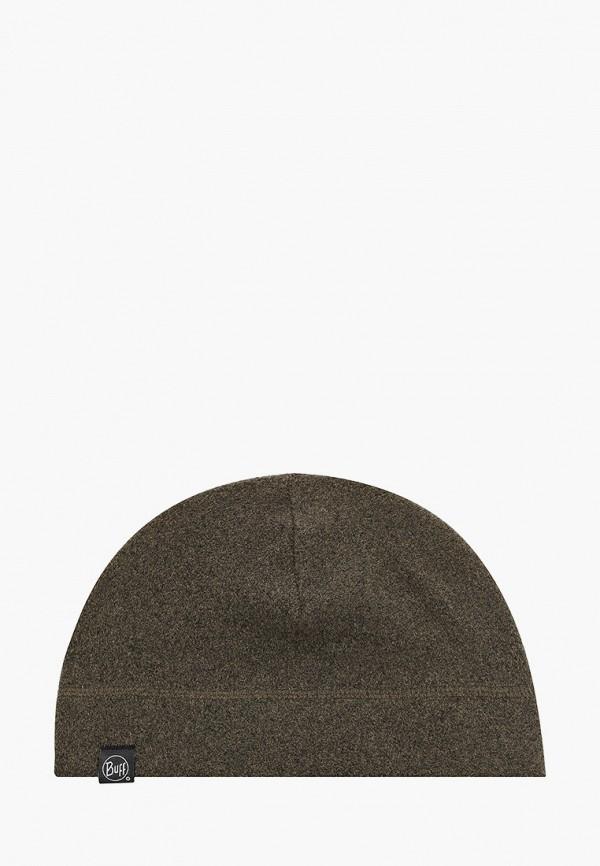 женская шапка buff, хаки