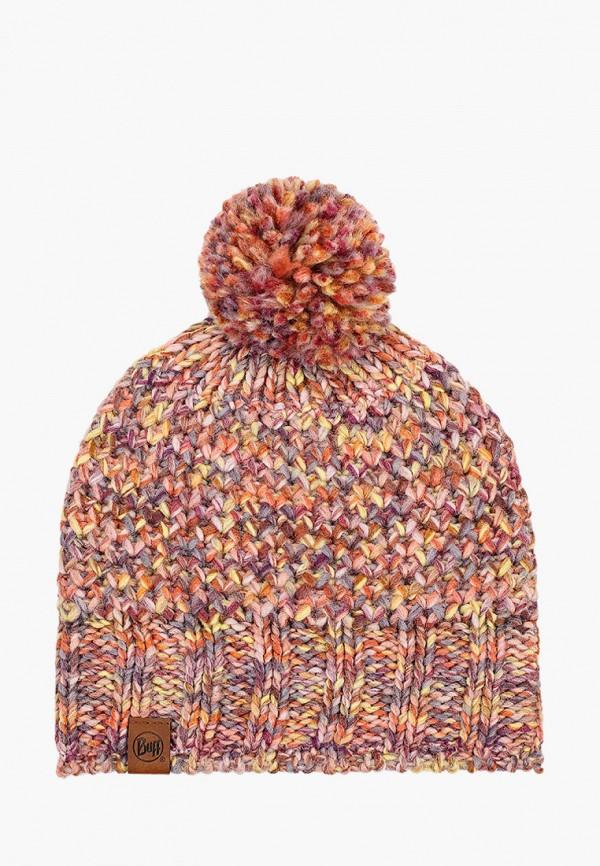 женская шапка buff, разноцветная