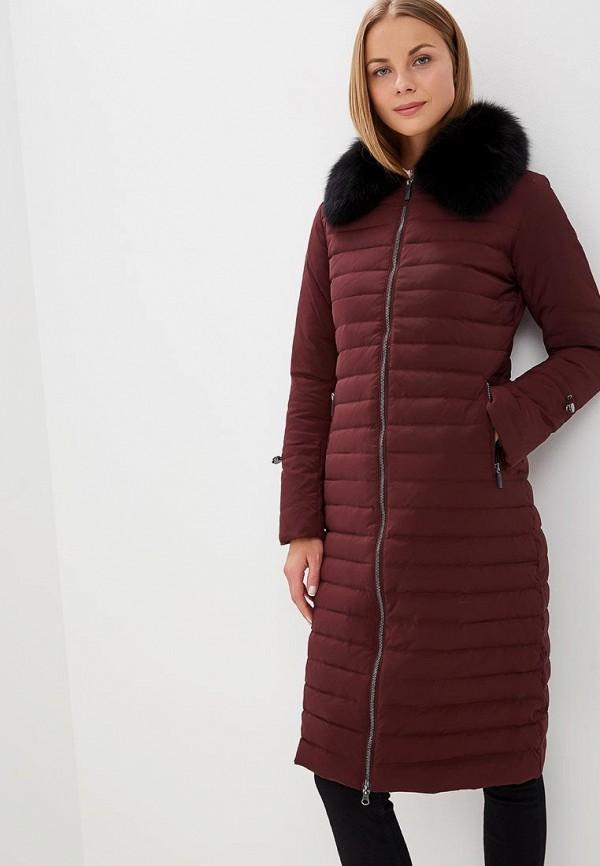 Купить Пуховик Bulmer, BU024EWCVSY4, бордовый, Осень-зима 2018/2019