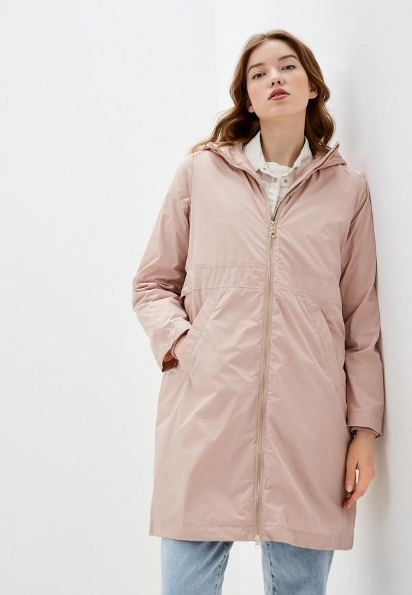 женская утепленные куртка bulmer, розовая
