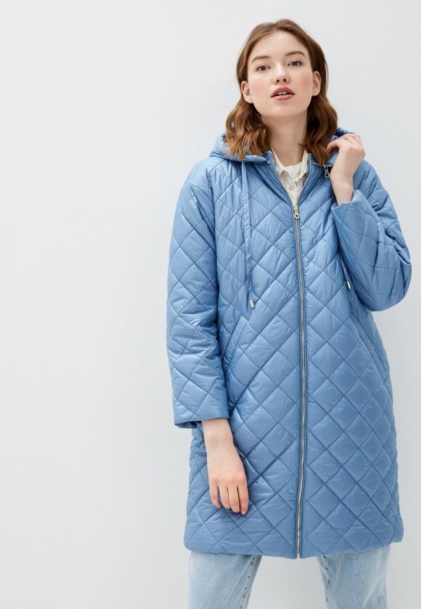 женская утепленные куртка bulmer, голубая