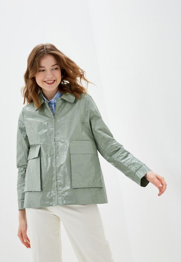 женская куртка bulmer, зеленая