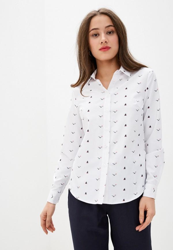женская рубашка с длинным рукавом bulmer, белая