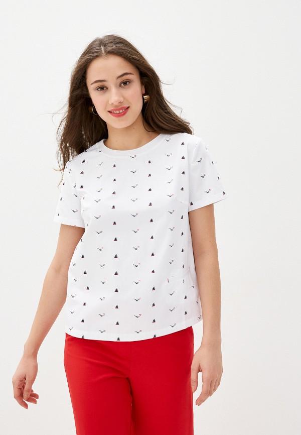женская футболка bulmer, белая