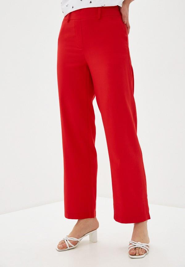женские повседневные брюки bulmer, красные