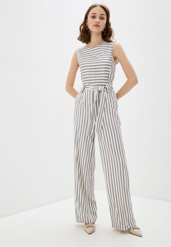 женский комбинезон с брюками bulmer, серый
