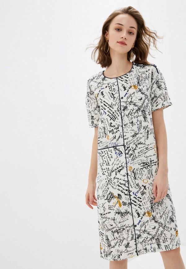 женское платье мини bulmer, белое