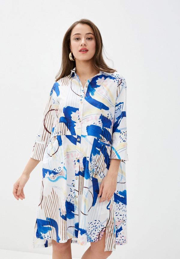 женское платье-рубашки bulmer, белое