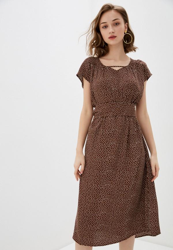 женское повседневные платье bulmer, коричневое