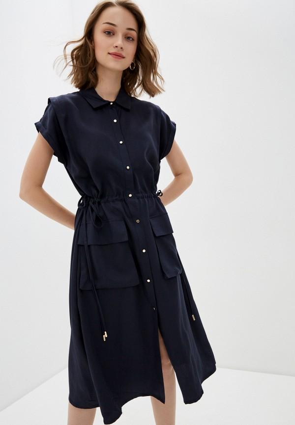 женское платье-рубашки bulmer, синее