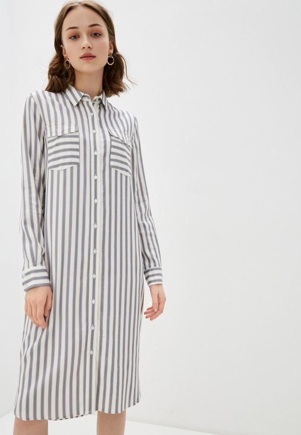 женское платье-рубашки bulmer, серое