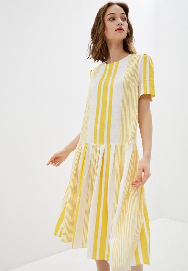 женское повседневные платье bulmer, желтое