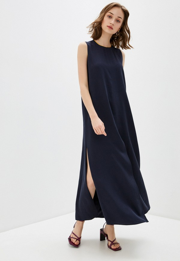 женское платье мини bulmer, синее