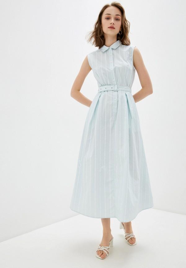 женское платье-рубашки bulmer, бирюзовое