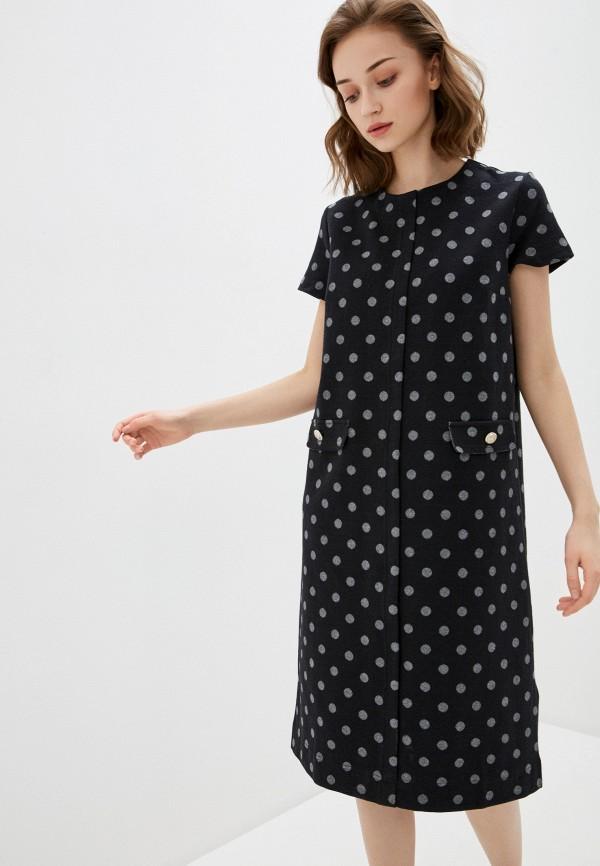 женское платье мини bulmer, черное