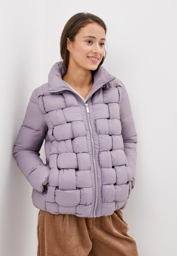 женский пуховик bulmer, фиолетовый