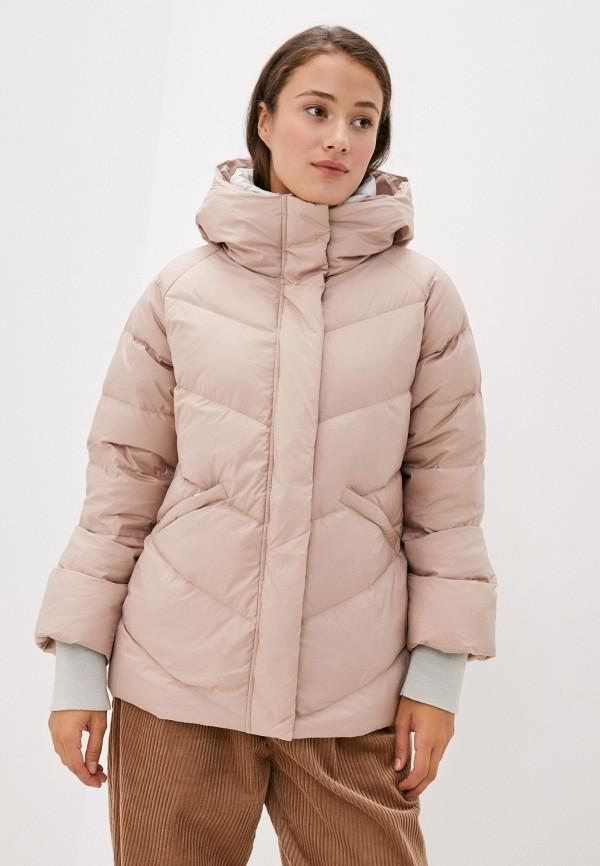 женский пуховик bulmer, розовый