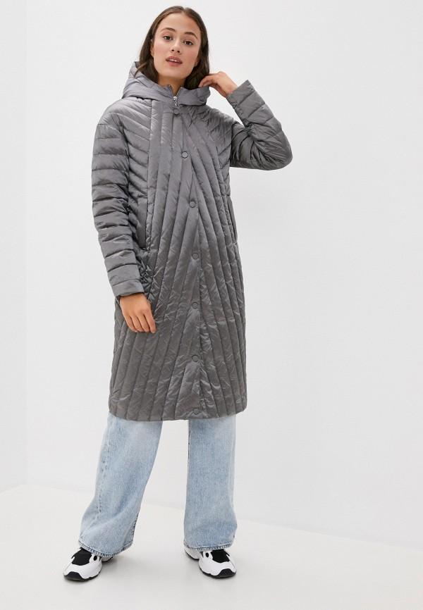 женский пуховик bulmer, серый
