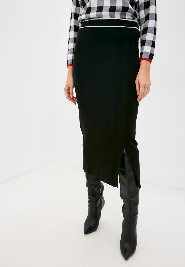 женская зауженные юбка bulmer, черная