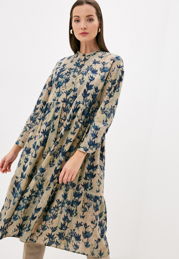 женское повседневные платье bulmer, зеленое
