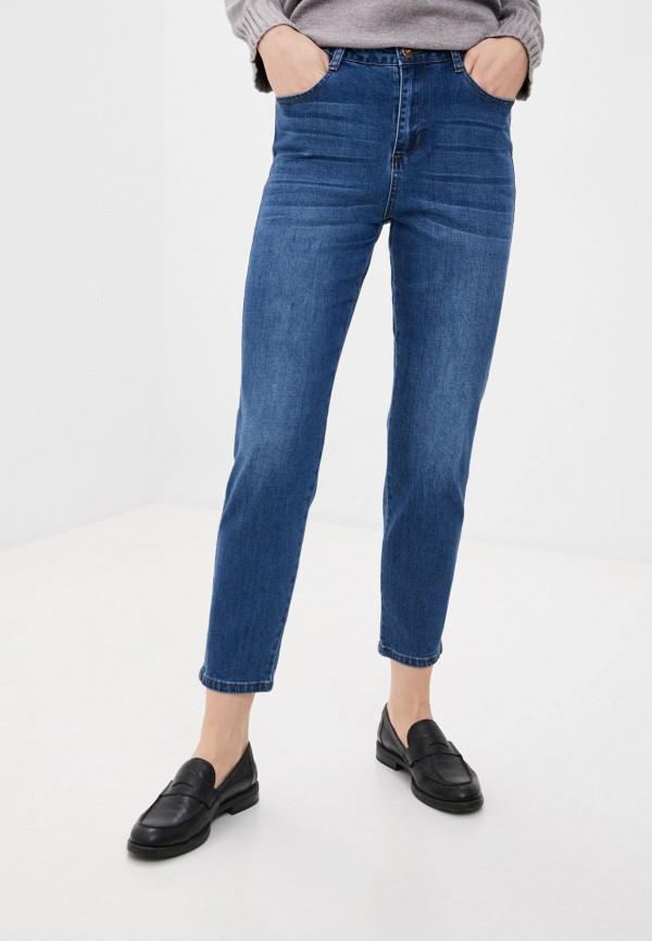 женские прямые джинсы bulmer, синие