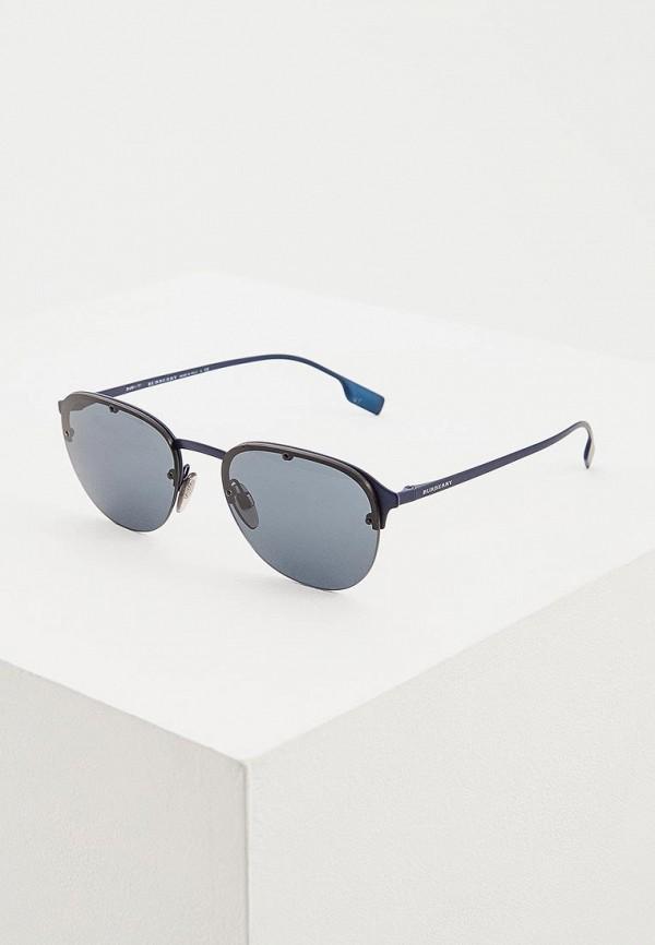 мужские солнцезащитные очки burberry, синие
