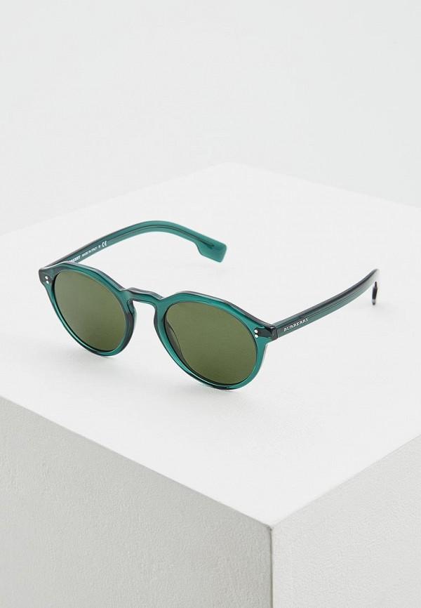 мужские солнцезащитные очки burberry, зеленые