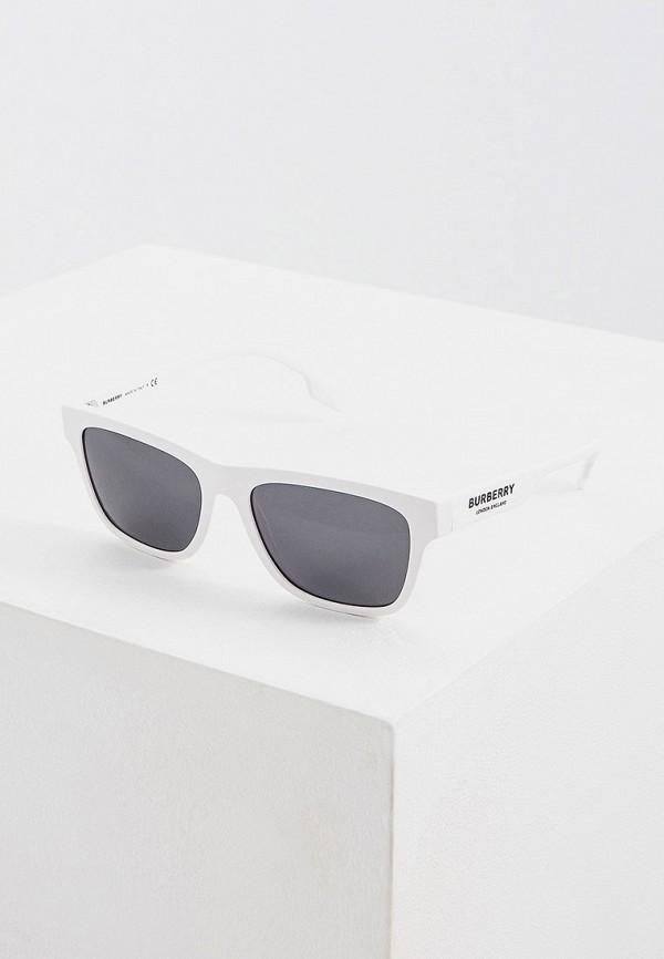 мужские солнцезащитные очки burberry, белые