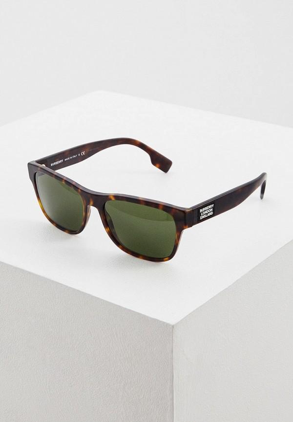 Очки солнцезащитные Burberry коричневого цвета