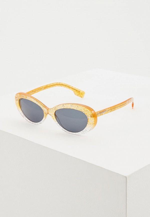 женские солнцезащитные очки burberry, бежевые