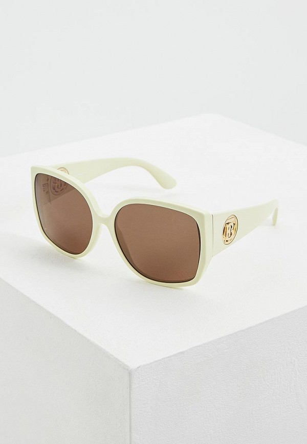 женские солнцезащитные очки burberry, зеленые