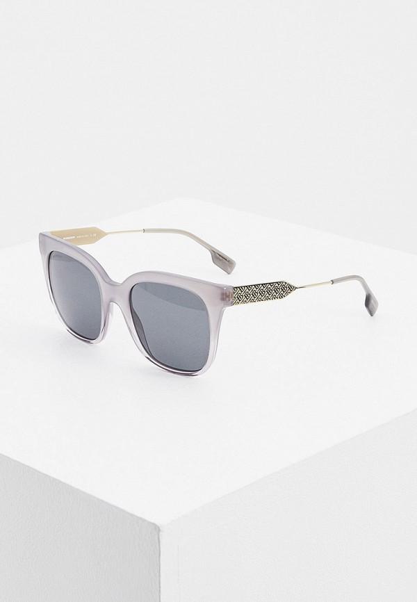 женские солнцезащитные очки burberry, серые