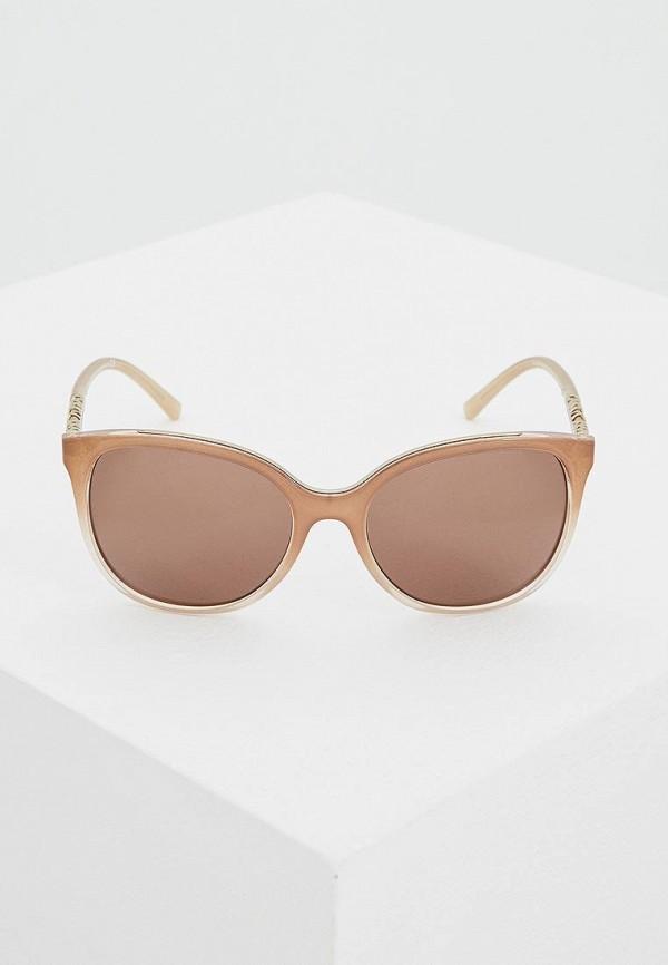 Фото 2 - Очки солнцезащитные Burberry коричневого цвета