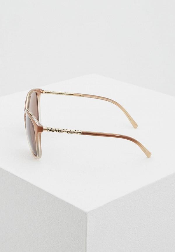 Фото 3 - Очки солнцезащитные Burberry коричневого цвета
