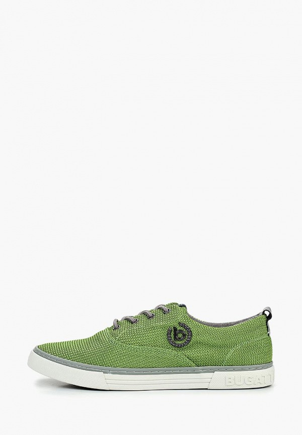 мужские кеды bugatti, зеленые