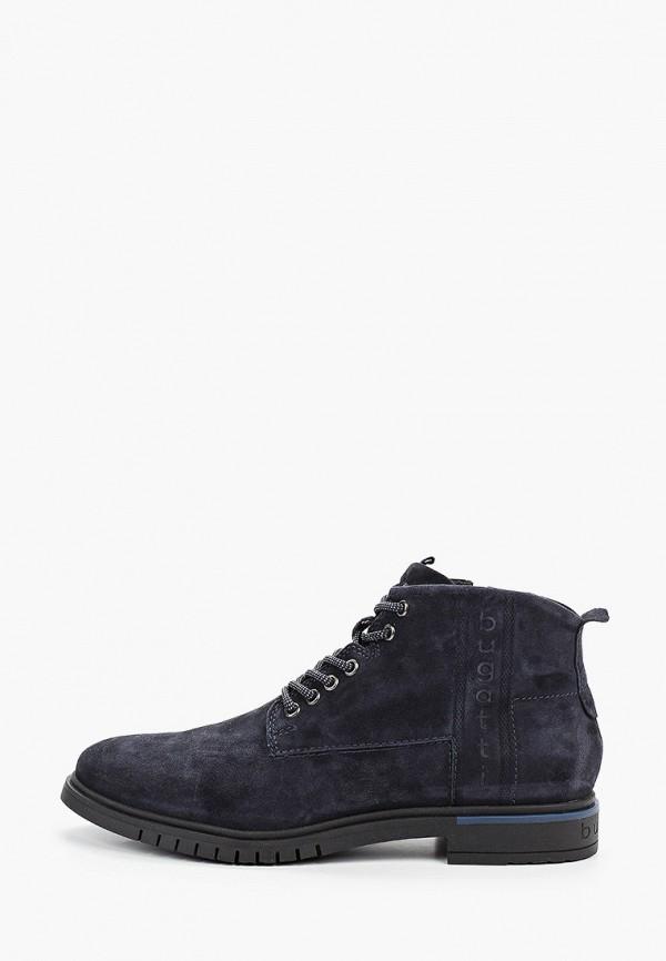 мужские ботинки bugatti, синие