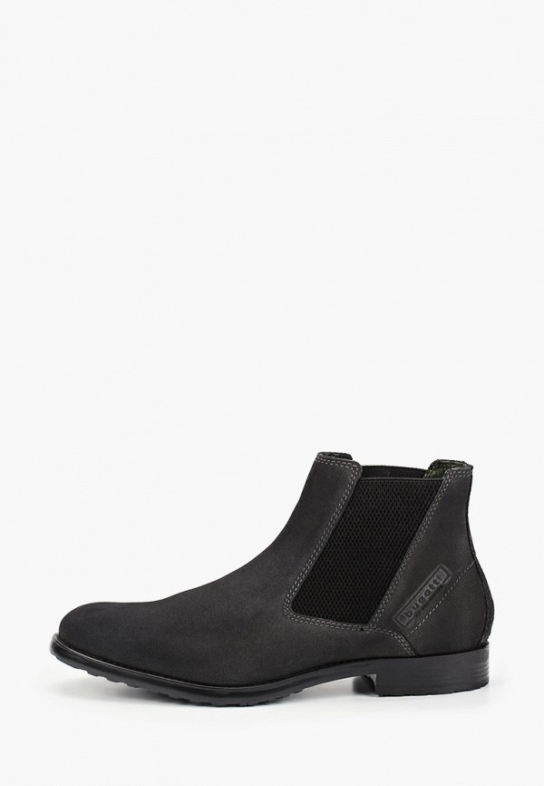 мужские ботинки bugatti, серые