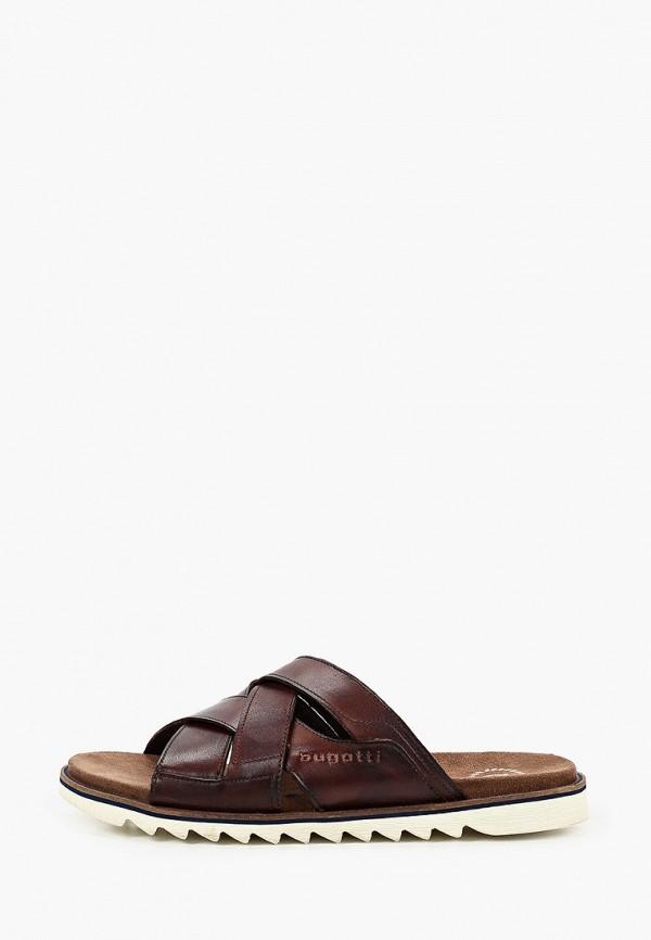 мужские сандалии bugatti, коричневые
