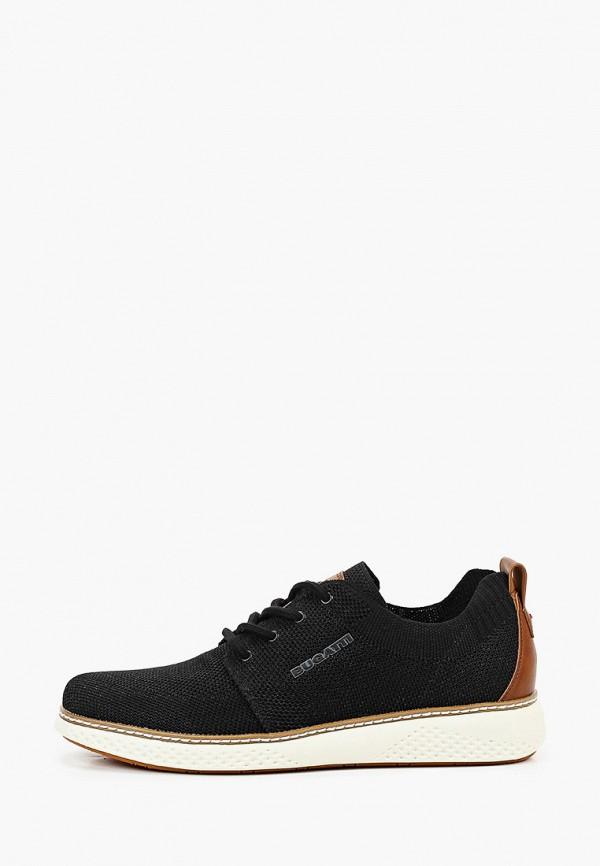 мужские кроссовки bugatti, черные