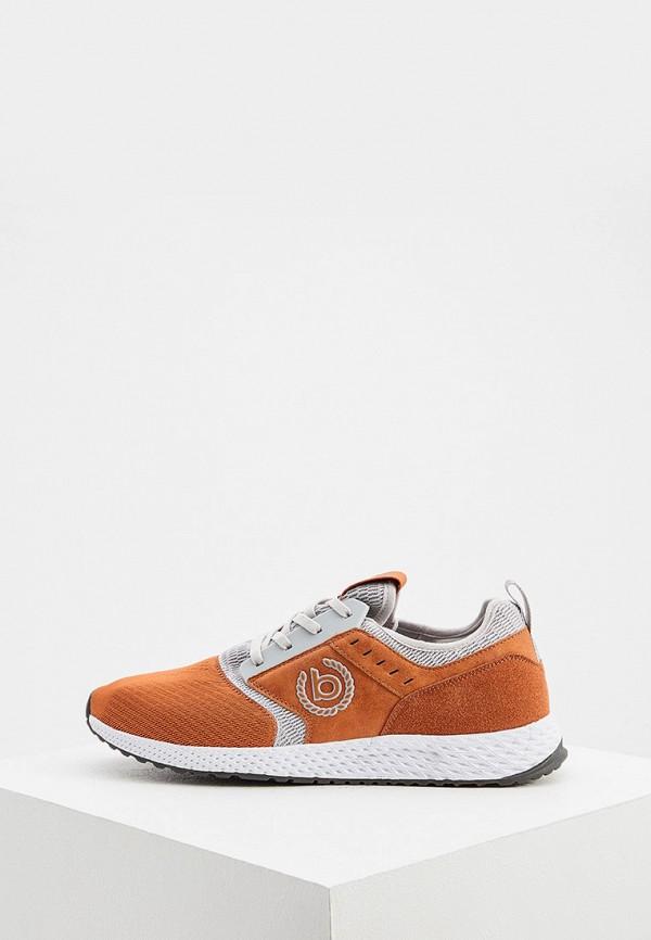 мужские кроссовки bugatti, оранжевые